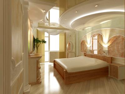 Дизайн нестандартных потолков